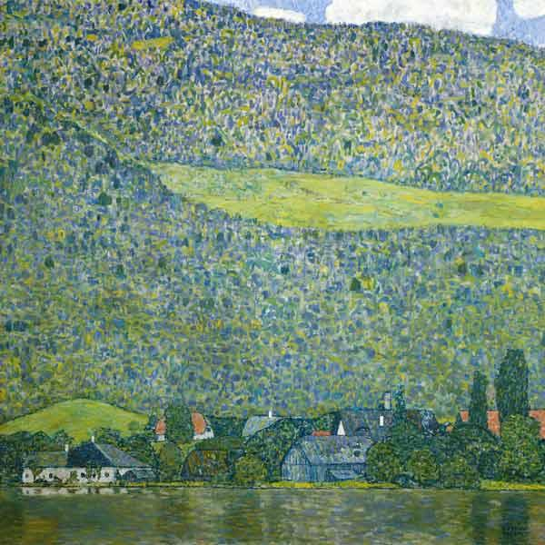 Unterach at the Attersee