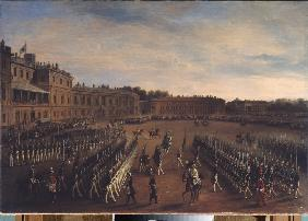 Parade at the Time of Emperor Paul I