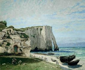 Cliff at Etretat