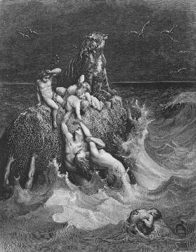 The Deluge (Frontispiece to the illustrated edition of the Bible)