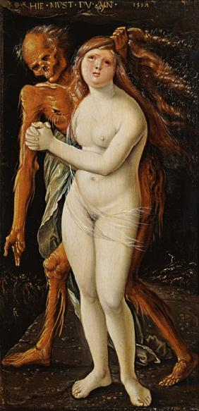 Baldung Grien, Hans : The death and the girl