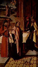 The victim of St. Joachim. Weingartner altar in th