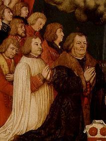 Votive picture of Ulrich Schwarz and his family's