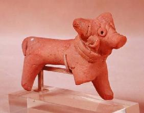Figure of an animal, from Mohenjo-Daro, Idus Valley, Pakistan