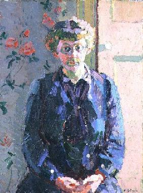 Portrait of Sylvia Gosse (1881-1968)
