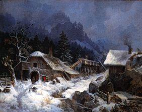 Forge in winter