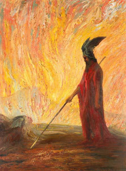Wotan's Farewell and Magic Fire