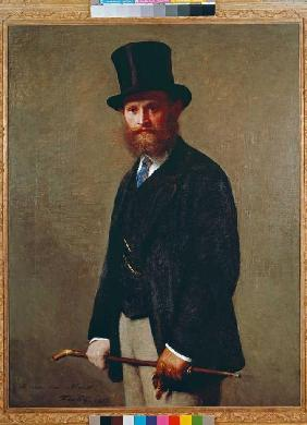 Portrait of Eduard Manet.