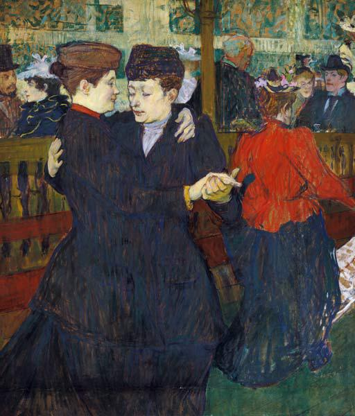 At the Moulin Rouge: The Two Waltzers