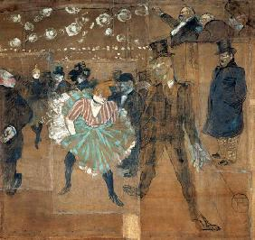 Dancing at the Moulin Rouge: La Goulue (1870-1927) and Valentin le Desosse (1843-1907)