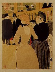 At the Moulin rouge: La Goulue and her sister