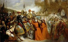 Entry of Charles VII into Rouen, 10 November 1449