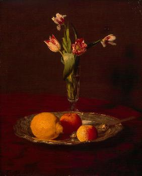 Lemon, Apples and Tulips
