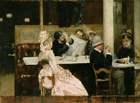 Cafe Scene in Paris