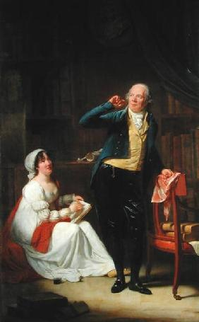 Jacques Delille (1738-1813) and his Wife