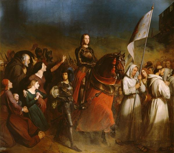 The Entry of Joan of Arc (1412-31) into Orleans, 8th May 1429