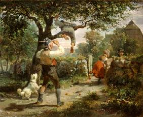 Hermann Kauffmann - The fruit thieves