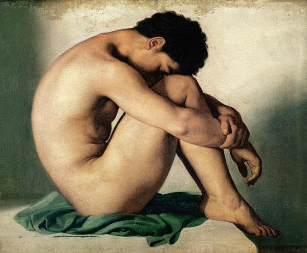 Study of a Nude Young Man