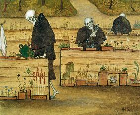 Simberg, Hugo : The Garden of Death