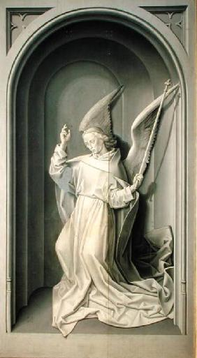 The Angel of the Annunciation, from the Portinari Triptych