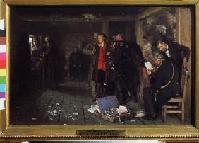 Repin Arrest Of A Propagandist