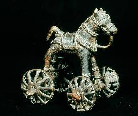 A toy horse, from North-West India