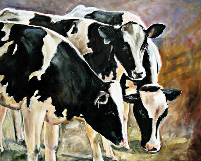 vacas 2 - Ingeborg Kuhn