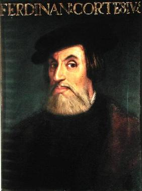 Portrait of Hernando Cortes (1485-1547)