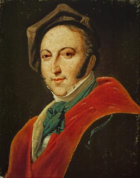 Portrait of Gioacchino Rossini (1792-1868)
