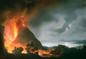 The Eruption of Vesuvius in 1810