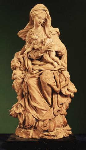 Madonna, Jesus and St. John the Baptist