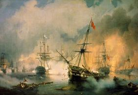 Sea battle of Navarino