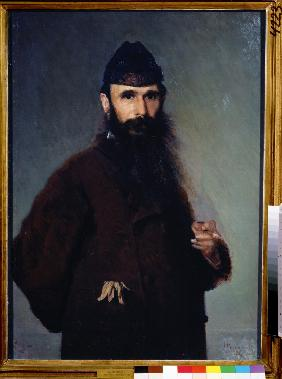 Portrait of the artist Alexander Litovchenko (1835-1890)