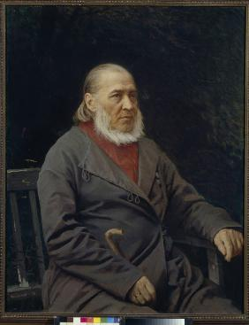 Portrait of the author Sergei T. Aksakov (1791-1859)