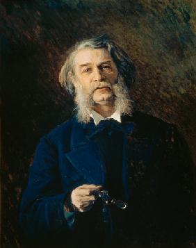 Portrait of Dmitri Vasilievich Grigorovich (1822-99)