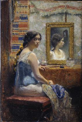 Lady at a Mirror