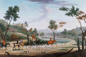 Hunting Scene on the Gallop