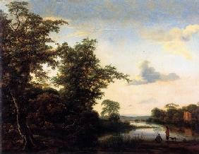 Landscape at morning atmosphere