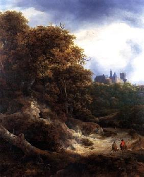 Landscape with castle Bentheim