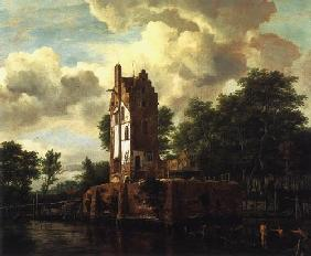 The ruin of the Huis food lost at the Amstel near