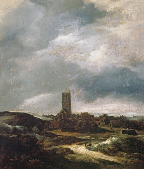 View of Egmond-An-Zee
