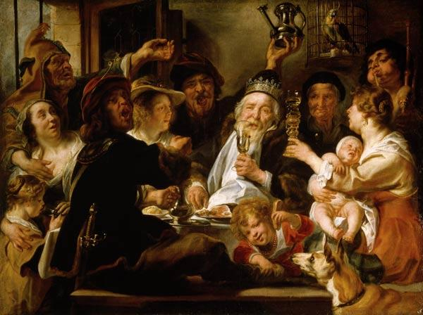 J.Jordaens / The Beanfeast