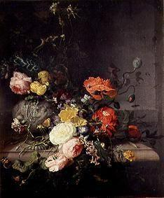 Still Life with Flowers and Insects