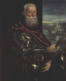 Portrait of Sebastiano Vernier (d.1578) Commander-in-Chief of the Venetian forces in the war against