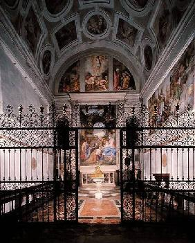 View of the Interior of the Grimani Chapel