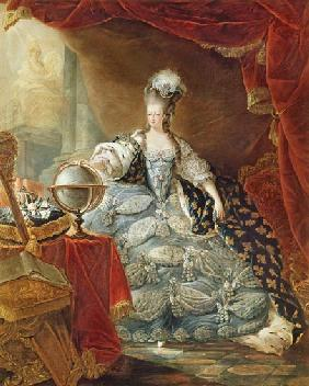 Portrait of Marie Antoinette (1755-93) Queen of France
