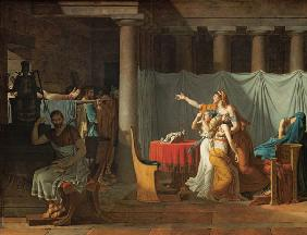 David, Jacques Louis : Lictors Bearing to Brutus ...