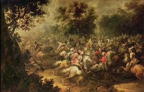 Battle of the cavalrymen