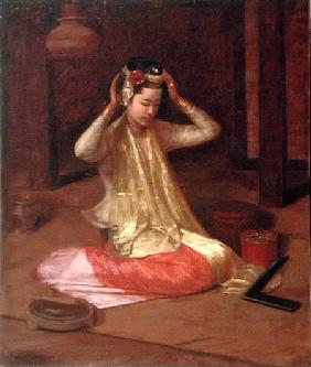A Burmese Dancer