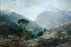 The View Toward the Fenderthal, Tyrol